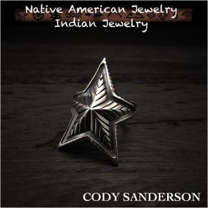 新品 コディ サンダーソン/Cody Sanderson リング 12号 インディアンジュエリー シルバー925 ナバホ族 ユニセックス (ID na3178r73)|wild-hearts