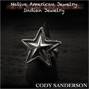 新品 コディ サンダーソン/Cody Sanderson リング 16号 インディアンジュエリー シルバー925 ナバホ族 ユニセックス (ID na3180r73)|wild-hearts