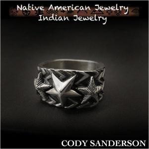 新品 コディ サンダーソン/Cody Sanderson リング 20号 インディアンジュエリー シルバー925 ナバホ族 ユニセックス (ID na3182r73)|wild-hearts