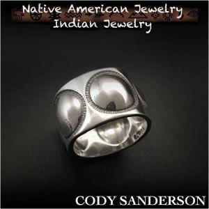 新品 コディ サンダーソン/Cody Sanderson リング 18号  インディアンジュエリー シルバー925 ナバホ族 ユニセックス (ID na3185r73)|wild-hearts