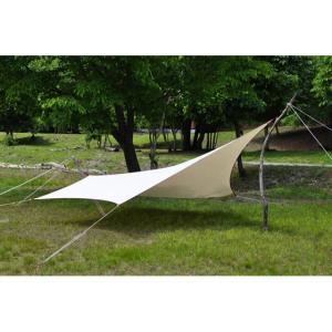 """tent-Mark DESIGNS (テンマクデザイン) ムササビウイング13ft.コットン""""焚き火""""version【タープ】 wild1"""
