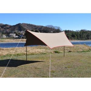 tent-Mark DESIGNS (テンマクデザイン) 焚火タープコットンヘキサ(M)【ヘキサタープ】 wild1