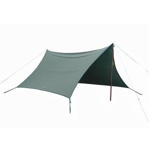 tent-Mark DESIGNS (テンマクデザイン) 焚火タープ TC コネクトヘキサ ダックグリーン【ヘキサタープ】 wild1