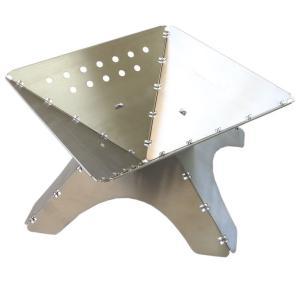 tent-Mark DESIGNS(テンマクデザイン)フラット焚火台 L|wild1