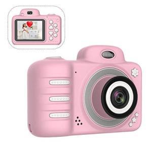 子供用 デジタルカメラ トイカメラ SZSMD 子供用カメラ 自撮可能 前後カメラ800万画素 2....