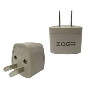 ZOER 全世界対応マルチ変換プラグA型(海外電化製品を日本で利用) A,BF, SE,C, B3,...