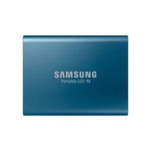 Samsung 外付けSSD 500GB T5シリーズ USB3.1対応 ハードウェア暗号化 パスワ...