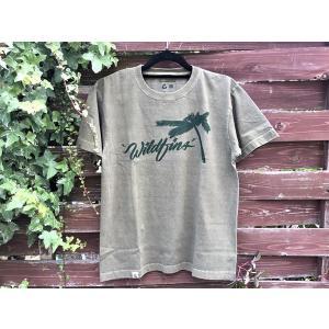 ピグメント ワイルドフィンズ WILDFINS Palm Tシャツ|wildfins