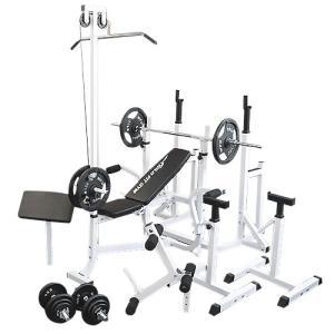 マルチフルセット アイアン100kg / 筋トレ トレーニング器具 ダンベル バーベル ベンチプレス ホームジム|wildfit