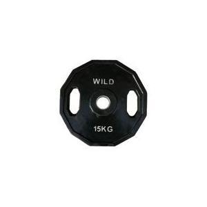 オリンピックラバープレート 15kg / WILD FIT (ワイルドフィット)