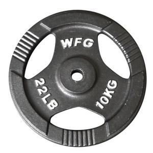 プレート 10kg(アイアン レギュラー)/ WILD FIT (ワイルドフィット)