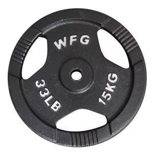 プレート 15kg(アイアン レギュラー)/ WILD FIT (ワイルドフィット)