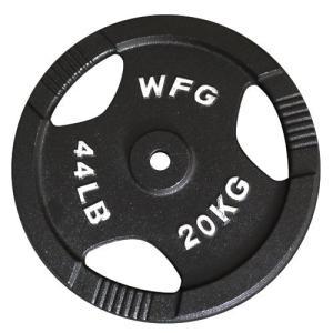 プレート 20kg(アイアン レギュラー)/ WILD FIT (ワイルドフィット)
