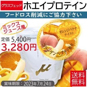 μ-up ホエイプロテイン100 オレンジバナナ(コラーゲンペプチド配合) 360g [μ-up(ミューアップ)シリーズ]|wildfit