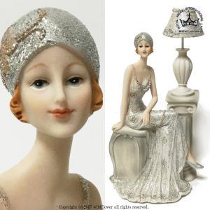 お洒落なインテリア 美しい貴婦人像です。 カフェ、ヘアーサロン、エステサロンの装飾に。 玄関やお部屋...