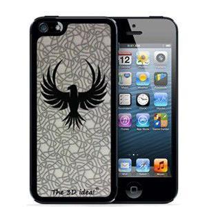 不思議な浮き出る 3Dホログラムスキンシート for iPhoneSE/5s/5 Skin BIRD バード 鳥 3D-SK-MBI|will-be-mart