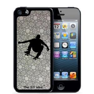 不思議な浮き出る 3Dホログラムスキンシート for iPhone SE 5s/5 Skin SKATER スケーター スケボー スケートボード 3D-SK-MSK|will-be-mart