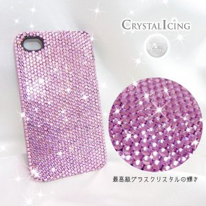 Lux Mobile Baby Pink, Crystal Case for iphone4s ケース ベビーピンク クリスタルアイシング Crystal Icing デコレーション ケース will-be-mart