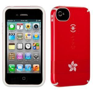 iPhone 4s ケース Speck Products アイフォン 4 ケース CandyShell HongKong Flag キャンディーシェルフラッグ ホンコン 香港 国旗|will-be-mart