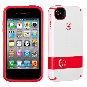 iPhone 4s ケース Speck Products アイフォン 4 ケース CandyShell Singapore Flag キャンディーシェルフラッグ シンガポール 国旗|will-be-mart