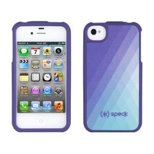 iPhone 4s ケース Speck Products アイフォン 4 ケース Fitted - DiamondFog Purple ダイヤモンドフォグパープル 菱型|will-be-mart