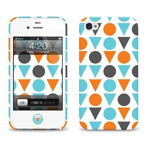 iPhone 4s ケース LAB.C +D Case アイフォン 4 ケースAN-01 iphone4s  保護フィルム、ホームボタンシール、無料壁紙付き|will-be-mart