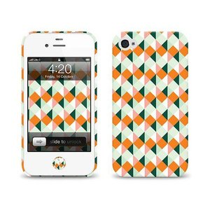 iPhone 4s ケース LAB.C +D Case アイフォン 4 ケースAN-03 iPhone4S/4  保護フィルム、ホームボタンシール、無料壁紙付き|will-be-mart
