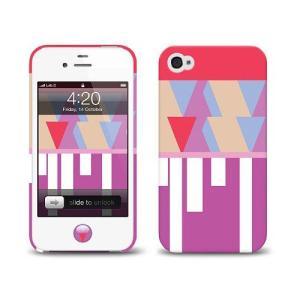 iPhone 4s ケース LAB.C +D Case アイフォン 4 ケースKI-06 iphone4s  保護フィルム、ホームボタンシール、無料壁紙付き|will-be-mart