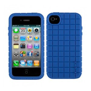 iPhone 4s ケース Speck Products Pixel Skin Cobalt コバルトブルー アイフォン 4 ケース シリコンゴム タイルパターン ピクセルスキン コバルトブルー|will-be-mart