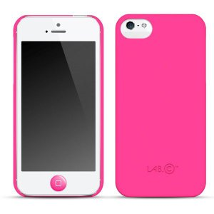 iPhone SE 5s/5 ケース LAB.C 7 Days for iPhone5 Hot Pink ホットピンク|will-be-mart
