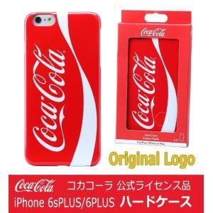 iPhone6s plus ケース コカコーラ公式  アイフォン6 PLUS ケース Coca-Cola ハードケース Original Logo オリジナルロゴ|will-be-mart