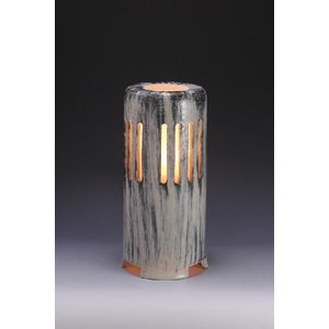 40Wライト 防雨型 コード3m グレー 陶器製 送料無料!  風格を感じさせる、陶器製ガーデンライ...