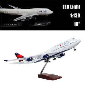"""■製品名:24-Hours 18"""" 1:130 Airplane Scale Model Delta..."""