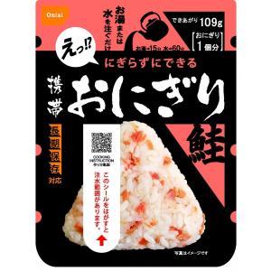 非常食 5年保存 尾西食品 アルファ米 携帯おにぎり 鮭 1個|willmall