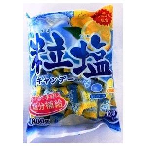 熱中症対策 扇雀飴 粒塩キャンディー 800G