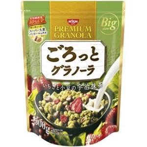 日清シスコ ごろっとグラノーラ いちごと小豆の宇治抹茶  500G|willmall