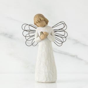 優しさと安心をくれるあなたへ  スーザン・ローディの手によるウィローツリー天使像の中で、一番最初に作...