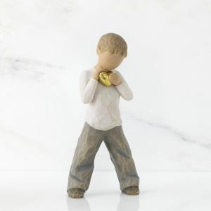 いつも勇気をくれるあなた  この像には実際のモデルがいて、彼の名前はスコットといいます。彼が入院して...