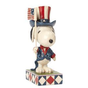 アメリカからの大使といったいでたちのスヌーピー。誇らしげだけれど、やっぱりどこかとぼけた表情はいつも...