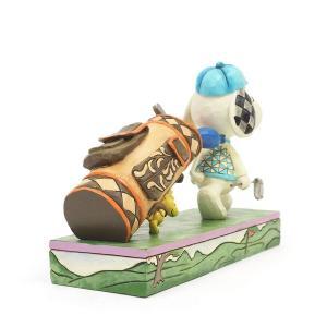 ゴルフ スヌーピーとウッドストック 7.6cm フィギュア 置物 グッズ 人形 雑貨 オブジェ ジム・ショア ピーナッツ|willowtree|05