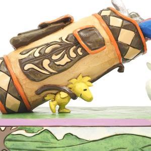 ゴルフ スヌーピーとウッドストック 7.6cm フィギュア 置物 グッズ 人形 雑貨 オブジェ ジム・ショア ピーナッツ|willowtree|06