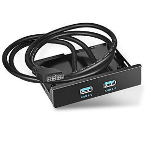 USB3.0 フロント 3.5インチ フロントパネル フロッピーディスク ドライブ用 20ピンコネク...