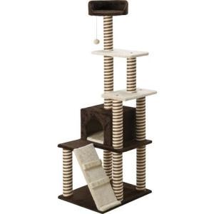 コーナン オリジナル キャットツリー タワータイプ YS70189 サイズ約50×60×160cm|willy-willy-zakka