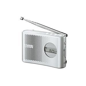 SONY FM/AM PLLシンセサイザーハンディーポータブルラジオ シルバー ICF-M55/S