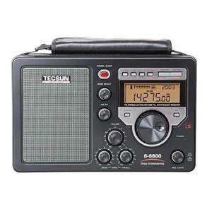 TECSUN S-8800 FM/LW/MW/SW/PLL BCL 短波ラジオ 遠距離受信機 日本語...