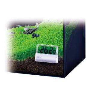 ジェックス クリア液晶デジタル水温計