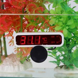 水温計 デジタル 温度計 水族箱 水槽温度計 水中型水温計 水槽 温度計 熱帯魚 ペット飼育 簡単便...