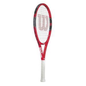 Wilson(ウイルソン) 硬式 テニスラケット FEDERER 100 (フェデラー100) ガッ...