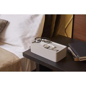 イデアコ ティッシュケース ラグジュアリーなホテル仕様 グランルーフ グレー