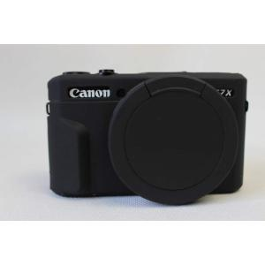 Canon キヤノン PEN G7 X Mark II G7X Mark II カメラカバー シリコ...
